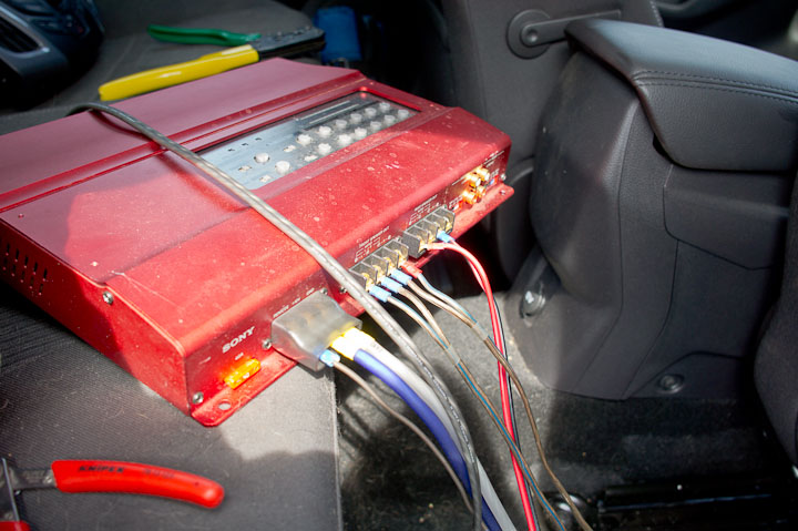 Fuzzcraft Car stereo 3 2014 Ford Focus Wagon – In Back Of Stereo Amp Wiring