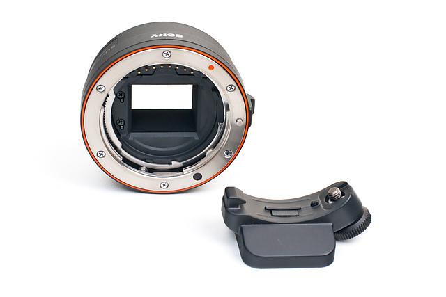 Fuzzcraft com | Sony LA-EA1 Alpha NEX A-mount lens adapter